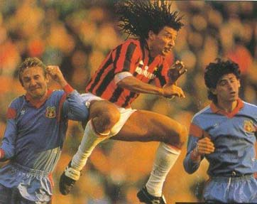 Ruud Gullit in action